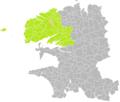 Le Drennec (Finistère) dans son Arrondissement.png