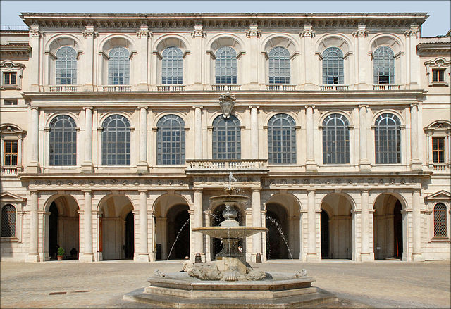 Légatyon Ympériale du Sérényssime Empire d'Ys 640px-Le_Palais_Barberini_%28Rome%29_%285970342674%29