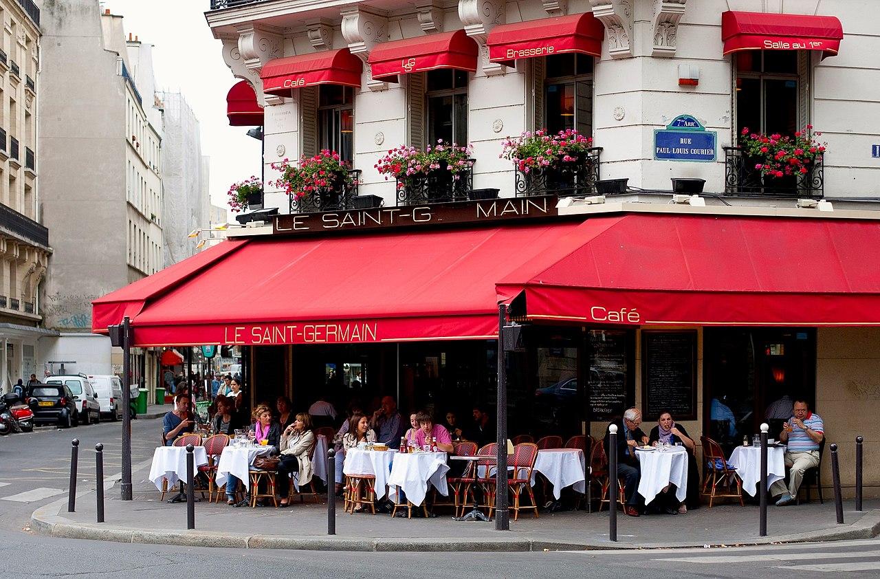Cafe Germain Rue Buci Patisserie