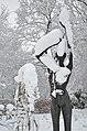 Lebenswertes chemnitz winter stadtpark statue frau rosengarten schnee 1.jpg