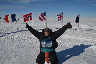Lee Abbamonte - Image: Lee Abbamonte at South Pole
