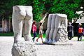 Legs in garden of Musée Rodin.jpg