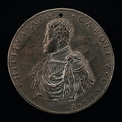 The Future Philip II of Spain as Prince of Austria [obverse]