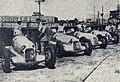 Les Daimler-Benz AG du Grand Prix de l'ACF 1935, de G. à D. Caracciola, Fagioli, le mulet, et von Brauchitsch.jpg