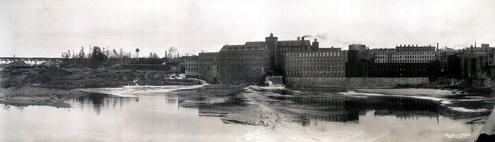 Lewiston factories c. 1910