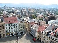 Liberec Rathaus Aussicht.JPG