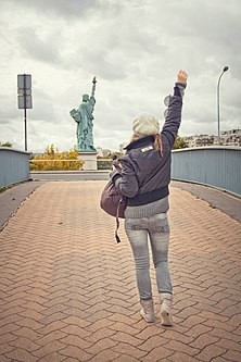 Liberty Enlightening the World, Paris 19 October 2011.jpg