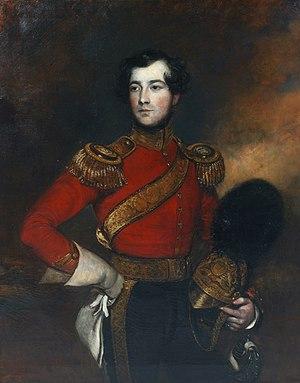 Frederick Yeates Hurlstone - Lieutenant Charles Philip de Ainslie, by Frederick Yeates Hurlstone