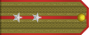 Lieutenant rank insignia (North Korea).svg