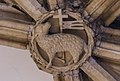Lincoln Cathedral roof boss (32855830816).jpg