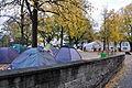 Lindenhof - «Occupy» Zürich-Lindenhof 2011-10-21 17-40-18.jpg