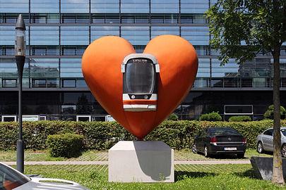 Linz - Herz der Linz AG - Linien - 2008 von Christof Cremer.jpg