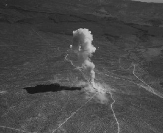 Little Feller (nuclear tests) - Little Feller I explosion