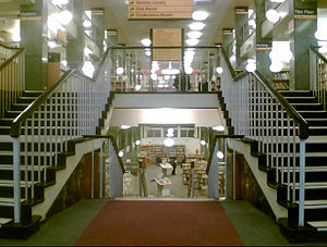 Liverpool Central Library - Interior view of the library prior to its refurbishment