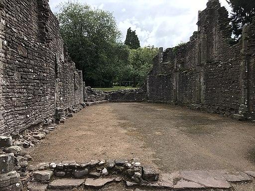 Llanthony Priory interior 02