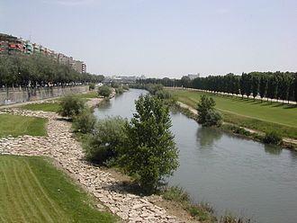 Segre (river) - The Segre in Lleida