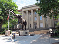 Lloyd G. Tanner Plaza & Morrill Hall, University of Nebraska-Lincoln, Lincoln, Nebraska, USA.jpg