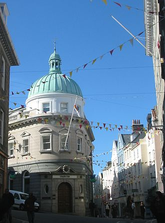 Lloyds Bank International - The Saint Peter Port branch, Guernsey, Channel Islands.