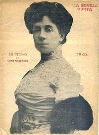 Lo eterno. Sofía Casanova. Madrid, 1917. 1ª edición. Imprenta Prensa Popular. Director Jose de Urquia.jpg