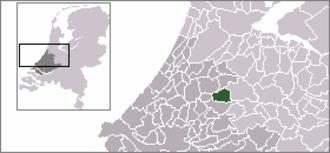 Bodegraven - Image: Locatie Bodegraven