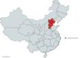 Location of Jingjinji(red) in China.png