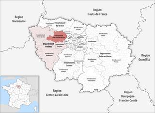Arrondissement of Saint-Germain-en-Laye Arrondissement in Île-de-France, France