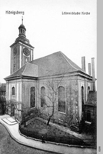 Löbenicht - Löbenicht Church in 1908