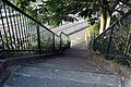 London-Woolwich, St Mary's Gardens, northeastern park entrance from Woolwich Church Street 1.JPG
