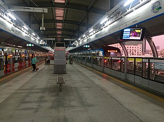 Longcheng Square station - Image: Longcheng Square Shenzhen Metro