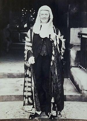 Edmund Davies, Baron Edmund-Davies - Lord Edmund Davies in his traditional judge's gown.