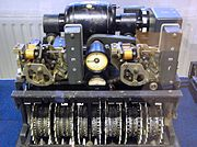 The German Lorenz cipher machine, used in World War II for encryption of very high-level general staff messages