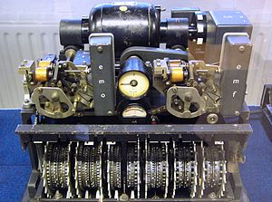 Lorenz cipher machine twelve rotors with mechanism