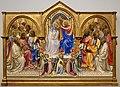 Lorenzo monaco, incoronazione della vergine e santi in adorazione, 1407-09, da s. benedetto fuori porta a pinti già a firenze 01.jpg