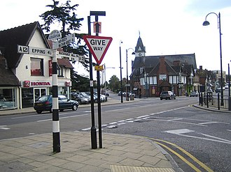 History of Loughton - Loughton High Road