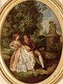 Louis-Roland Trinquesse Couple d'amoureux dans un jardin heller.jpg