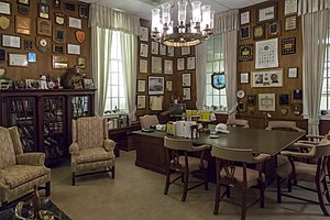 Louis L. Goldstein - Goldstein's office at the Jefferson Patterson Museum