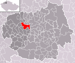 Location of Lovosice