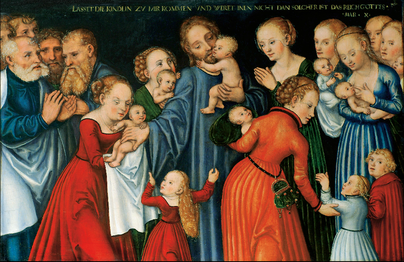 File:Lucas Cranach the Elder, Christ blessing the Children, Paris (?), private collection.PNG