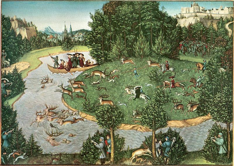 File:Lucas Cranach the Elder Stag Hunt.jpg