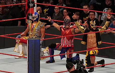 Lucha House Party.