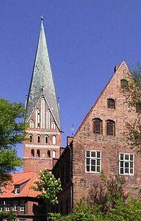 St. Johns Church, Lüneburg Church in Lower Saxony, Germany