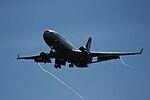 Lufthansa Cargo D-ALCH landing at Bengaluru, Sep 2015.jpg