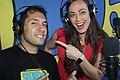 Luigi Dalife e Rosana Garofalo, due conduttori in onda su Studio 54 Network.jpg
