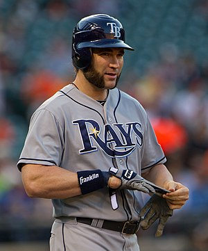 Luke Scott - Scott with the Tampa Bay Rays