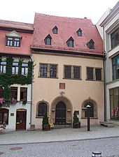 Luthers Sterbehaus in Eisleben (Quelle: Wikimedia)