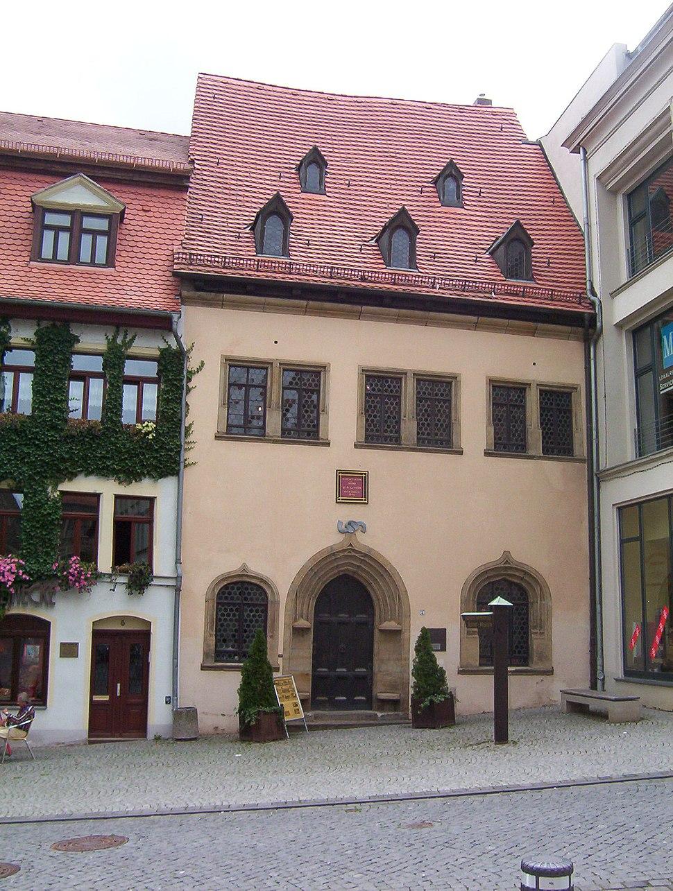 Luthers Sterbehaus Eisleben