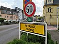 Luxembourg road sign F,14a Petange.jpg