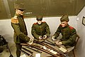 Luxembourg troops cleaning rifles (33370400754).jpg