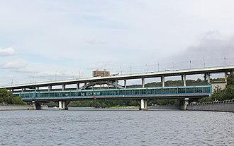 Luzhniki Metro Bridge - The Luzhniki bridge