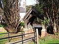 Lych gate, St Michaels and All Angels Church, Cherry Burton - geograph.org.uk - 590577.jpg